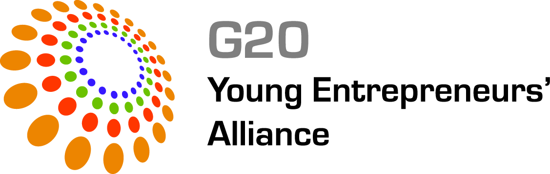 G20 Young Entrepreneurs' Alliance logo.