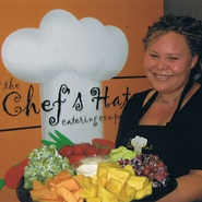 Meghan Anderson of The Chef's Hat Catering Company. / Meghan Anderson, de The Chef's Hat Catering Company.