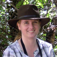Heather Hinam of Second Nature Adventure in Discovery. / Heather Hinam, de Second Nature Adventure in Discovery.