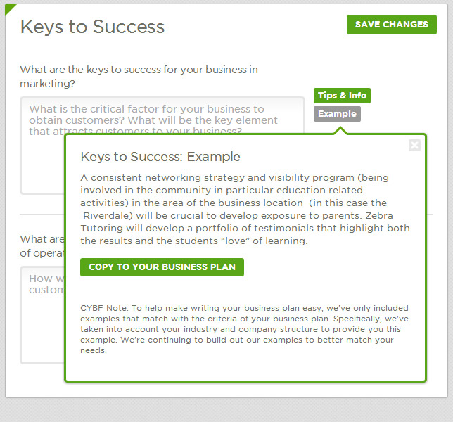 Tips & Tools « Business Plan Writer « Futurpreneur Canada