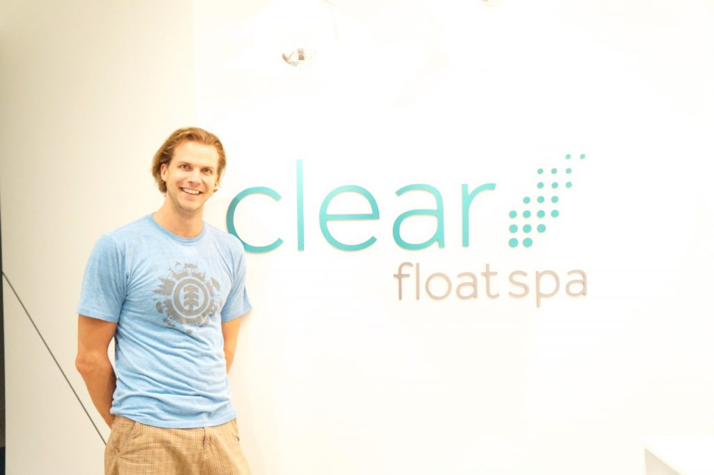 Photo of Bryce Weeks of Clear Float Spa