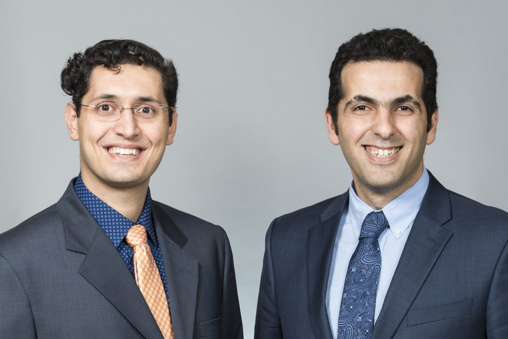 Photo of Hamed and Farid of FPrime C Solutions Inc.