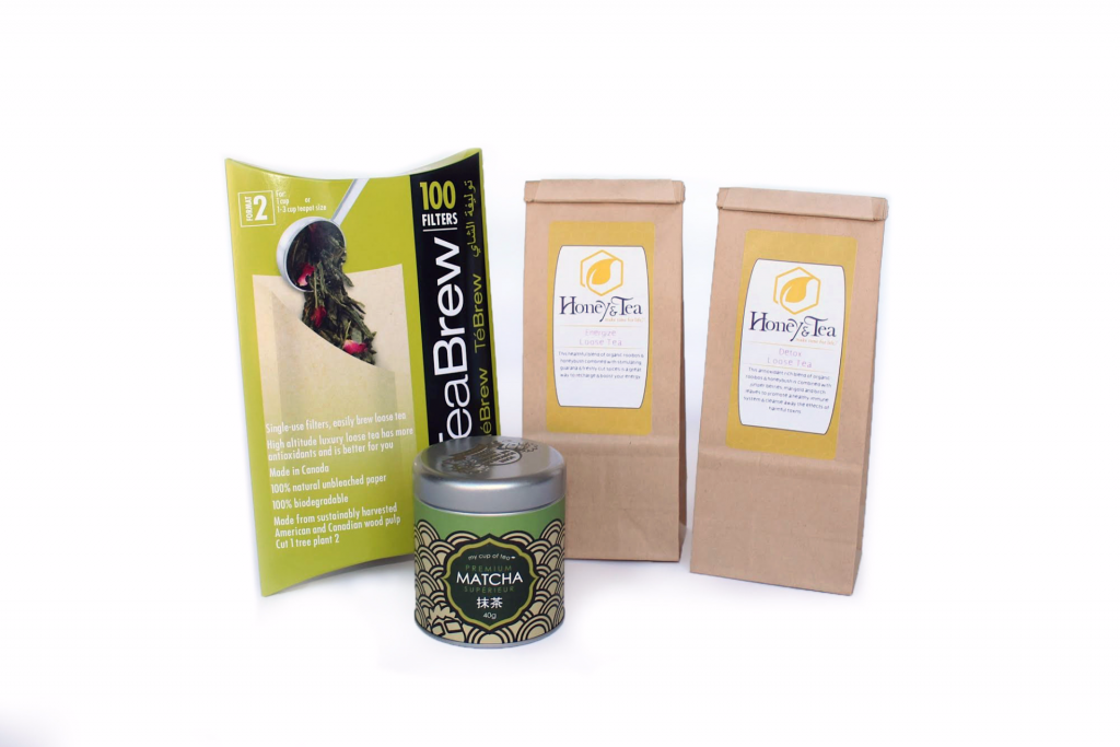 Honey and Tea Matcha Cleanse Kit