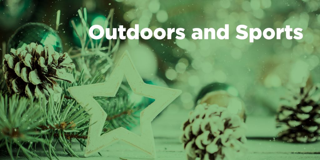 sports and outdoors products futurpreneur holiday shopping guide