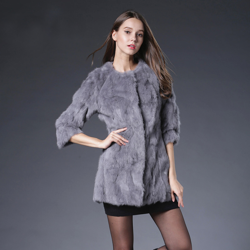 Queen Marketplace Real Rabbit Fur