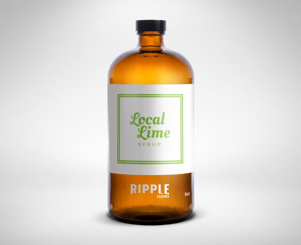 Ripple Farms Local-Lime Syrup