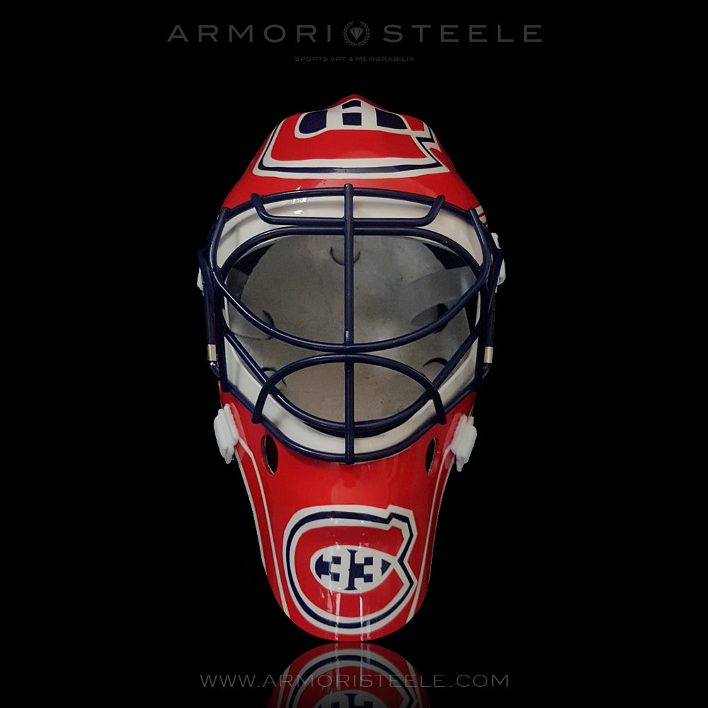 armori steele patrick roy goalie mask