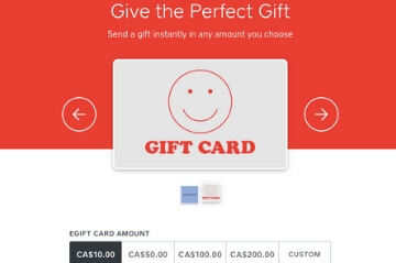 Ten Restaurant E-Gift Card