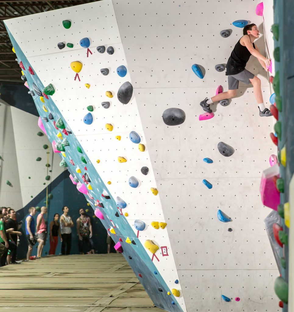 The TopRock Climbing Gym has fostered a strong community in Brampton