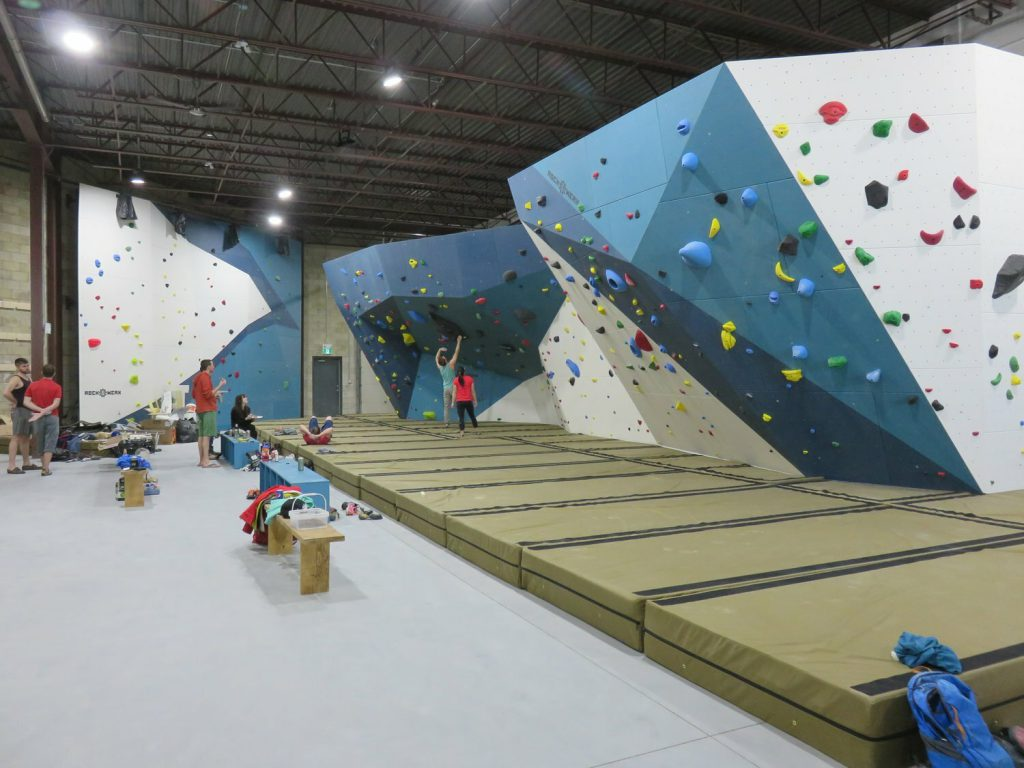 A look at the TopRock Climbing gym in Brampton Ontario
