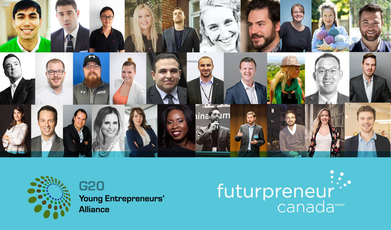 FUTURPRENEUR CANADA™ IS PROUD TO ANNOUNCE THE 2019 CANADIAN G20