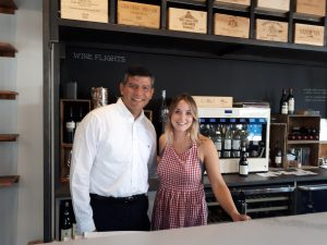 Mentor Juan Navarro with Futurpreneur mentee Jessica of farmer's daughter