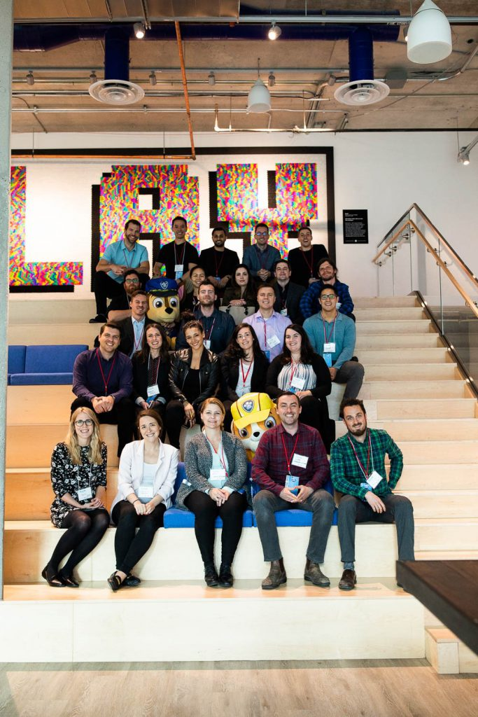 Growth Accelerator Spring 2019 participants at Spin Master