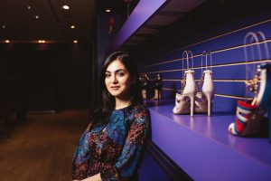 Entrepreneur Elle AyoubZadeh curates luxury leather goods that inspire elegance and curiosity