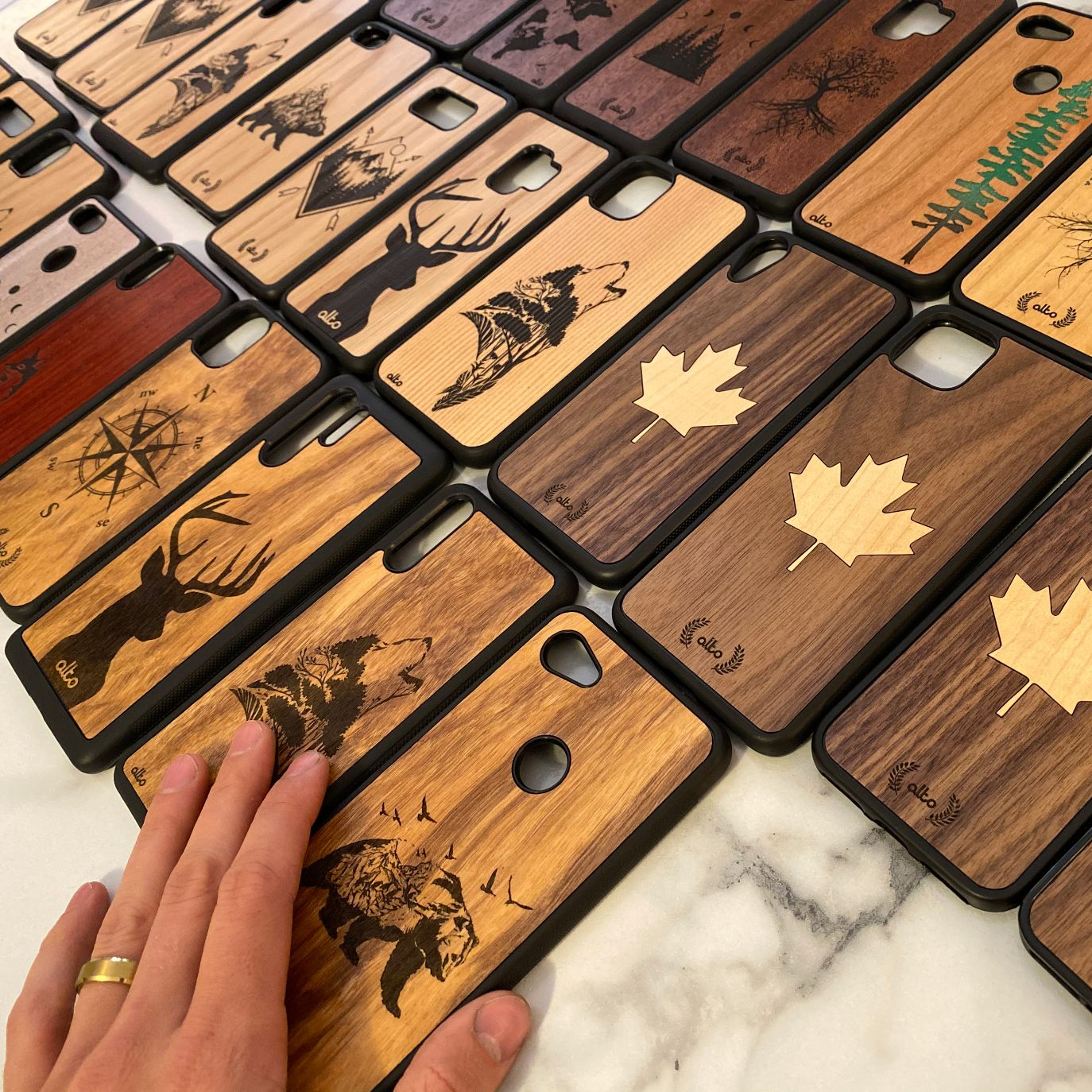 Durable Wood Smartphone Cases