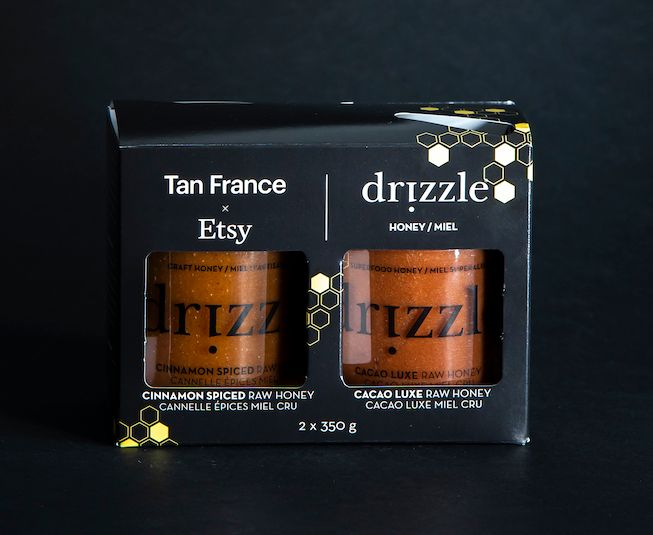 Tan France x Etsy x Drizzle Honey Gift Set