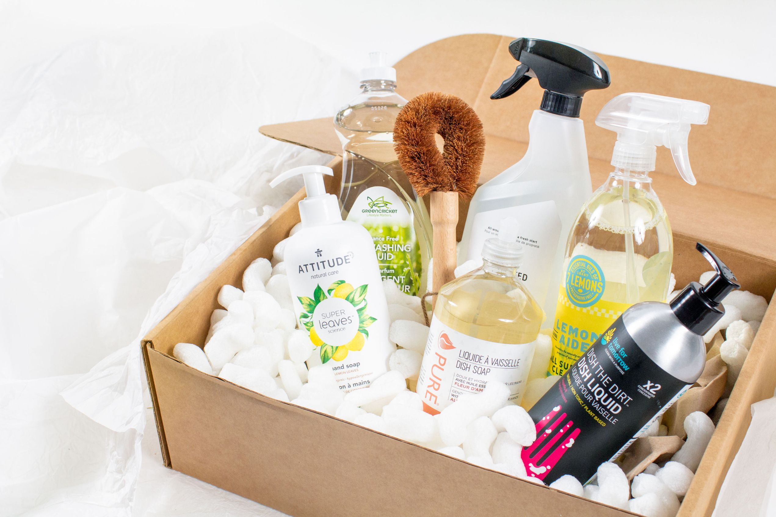 Eco Cleaning Product Subscription Box